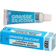 Graisse silicone GEB spéciale robinets / vannes - Tube 20 g