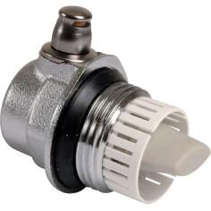"""Purgeur d'air automatique 1"""" pour radiateur - CALEFFI 507621 / 507611"""
