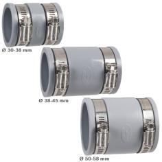 Manchon souple multi-matériaux Ø 32 - 40 - 50 mm pour tube GIRPI