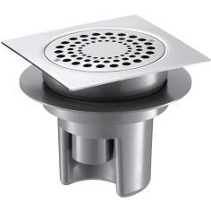 Siphon de sol avec grille Inox 150x150 DELABIE