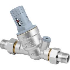 Réducteur de pression gradué réglable - RBM RinoxPlusSmart