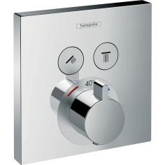 Façade pour mitigeur thermostatique HANSGROHE ShowerSelect E