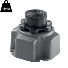 Pied réglable adhésif H 87-170 mm pour receveur douche - WIRQUIN Pro
