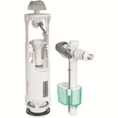 Ensemble mécanisme Optima S + robinet flotteur Quieto SIAMP