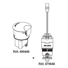 Ensemble réparation DELABIE Tempomatic 4 - Tête 490446 + électrovanne 479648