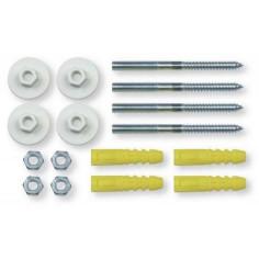 Fixations pour chauffe-eau 10x120 mm - PLOMBELEC