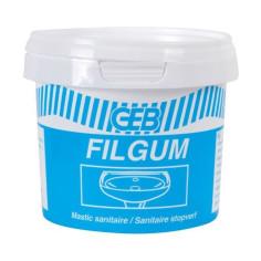 Mastic d'étanchéité sanitaire GEB Filgum - Pot 500 g
