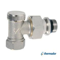 """Coude de réglage radiateur F 3/8"""" (12x17) THERMADOR"""