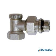 """Coude de réglage radiateur F 1/2"""" (15x21) THERMADOR"""