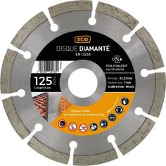 Disque diamant Ø 125 mm à segments