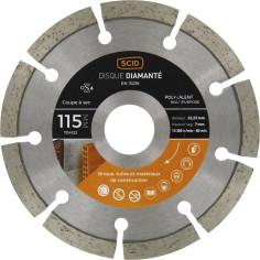 Disque diamant Ø 115 mm à segments