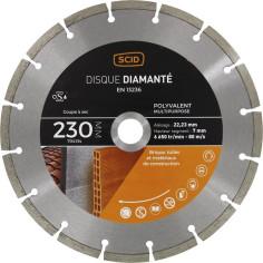 Disque diamant Ø 230 mm à segments