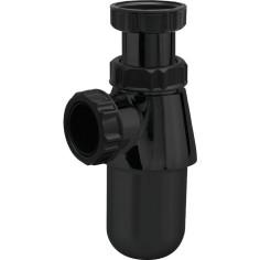 """Siphon lavabo noir 1""""1/4 Ø 32 mm VALENTIN Factory Line"""