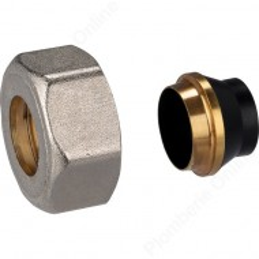 Raccord conique écrou Ø 15 mm RBM pour tube de kit mono / bitube