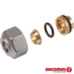 Raccord adaptateur tube cuivre GIACOMINI R178 pour collecteur