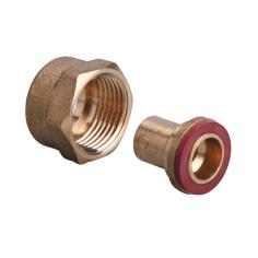 Raccord écrou propane / butane 20x150 à souder pour cuivre Ø 10 mm - GURTNER