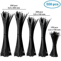 Assortiment de liens nylon Longueur 100, 140 et 200 mm - ACE 550B3
