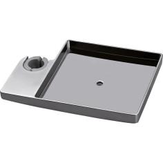 Porte savon carré pour barre Ø 18 - 20 - 25 mm - BOSSINI V00106