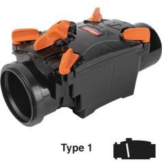 Clapet anti-retour PVC pour évacuation Ø 100 mm - NICOLL