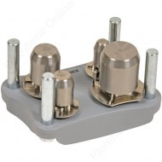 Outil de calibrage et chanfrein pour tube multicouche Ø 16 - 20 - 26 et 32 mm - ALPEX