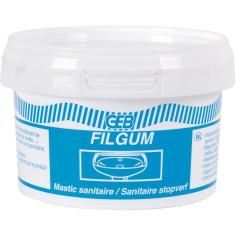 Mastic d'étanchéité sanitaire GEB Filgum - Pot 200 g