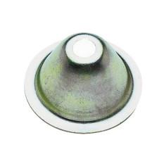 Rosace conique pour patte à vis et collier de fixation de tube plomberie