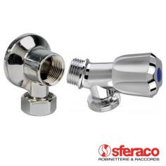 Pack robinet + applique pour branchement machine à laver SFERACO