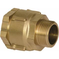 Raccord Mâle à compression pour tube PE (polyéthylène) - HUOT Rexuo