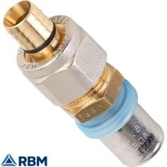 Raccord passerelle multicouche - PER - Raccord à sertir - à compression Tita Fix - RBM
