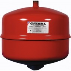 Vase d'expansion à membrane 18 L - GITRAL MB18