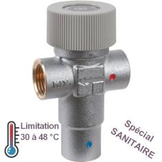 Mitigeur thermostatique de sécurité eau chaude sanitaire THERMADOR / CALEFFI