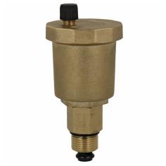 """Purgeur automatique laiton Mâle 3/8"""" avec vanne d'isolement - Sélection Plomberie Online"""