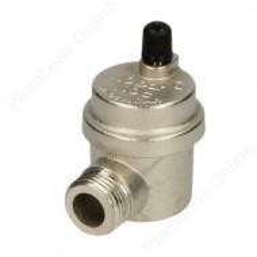 """Purgeur automatique 1/2"""" (15x21) équerre modèle compact - Sélection Plomberie Online"""