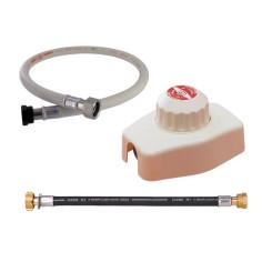 Pack propane - Détendeur déclencheur 4 kg/h + Lyre souple 700 mm + Flexible propane 1,50 m