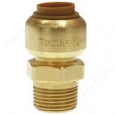 "Raccord tectite mâle Ø 15 - M 3/8"" - TECTITE® CLASSIC"