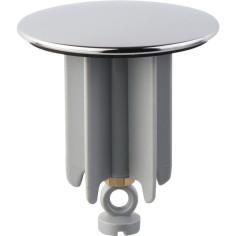 Clapet de vidage de lavabo Ø 63 mm avec système antivol