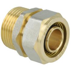 Raccord mâle à compression pour tube multicouche - SILVERTEC