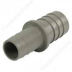 Raccord jonction Ø 21 - 25 mm pour tuyau de vidange de machine à laver