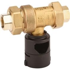 """Disconnecteur F 3/4"""" à zone de pression réduite non contrôlable - CALEFFI 573515"""
