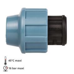 Bouchon pour tube PE / PEHD Ø 32 mm - UNIDELTA