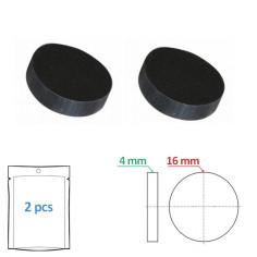 Clapet plein 16 x 4 mm pour tête de robinet (par 2) - Sélection Plomberie Online