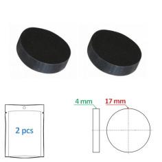 Clapet plein 17 x 4 mm pour tête de robinet (par 2) - Sélection Plomberie Online