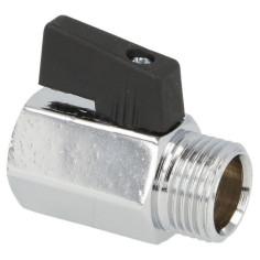 """Mini vanne MF 1/2"""" (15x21) en laiton chromé - Sélection PLOMBERIE ONLINE"""