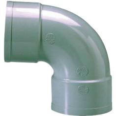 Coude 87°30 Femelle-Femelle PVC NF à coller - GIRPI