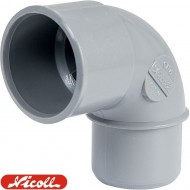 Coude 87°30 MF PVC à coller NICOLL
