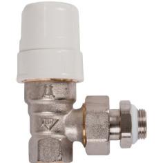 Robinet équerre thermostatisable Femelle pour radiateur - RBM
