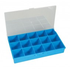Coffret de rangement 15 compartiments MINIKIT (vendu vide)
