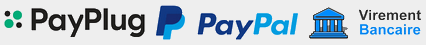 Paiement Paypal Payplug Virement - Plomberie Online